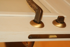 Двери МДФ шпон дуба с патиной