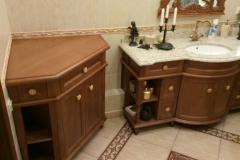 Мебель в ванную массив дуба