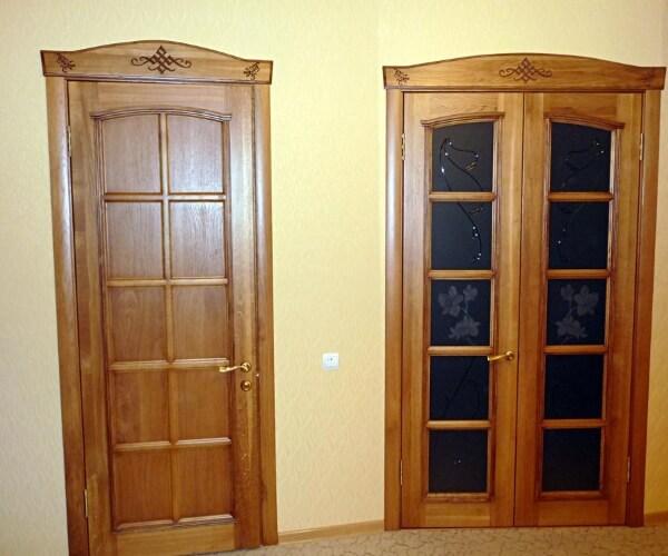 двери из дерева на заказ